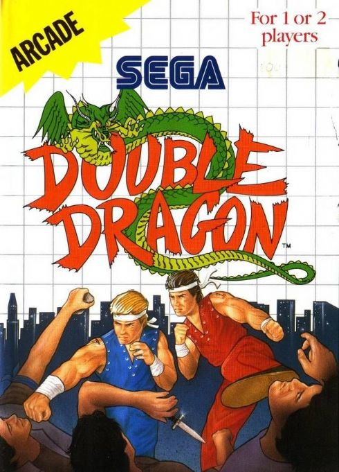 Foto Double Dragon Master System - Seminovo