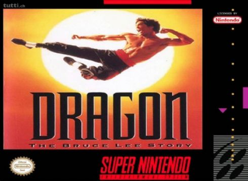 Foto Dragon The Bruce Lee Story Super Nintendo - Seminovo