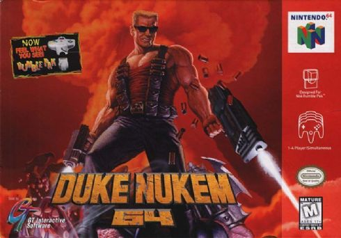 Duke Nukem 64 (Seminovo)...