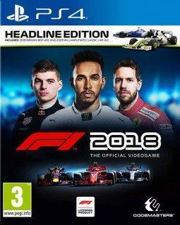F1 2018 PS4 - Seminovo