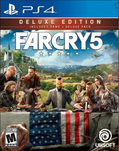 Farcry 5 PS4 Deluxe Steel...