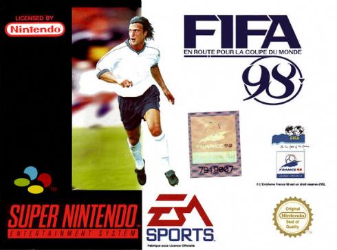 Fifa 98 Super Nintendo -...