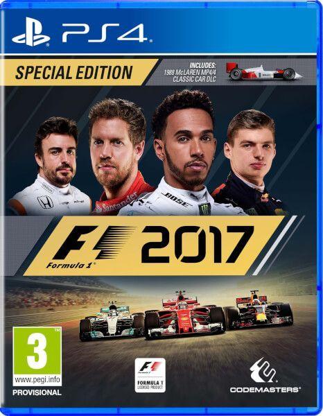 Formula One 2017 PS4 - Se...