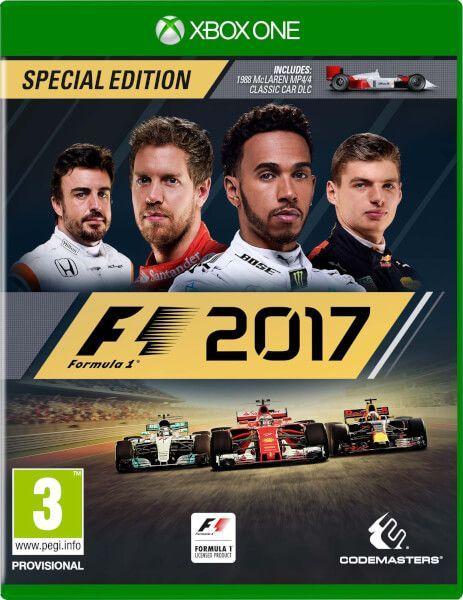 Formula One 2017 XBOX ONE...