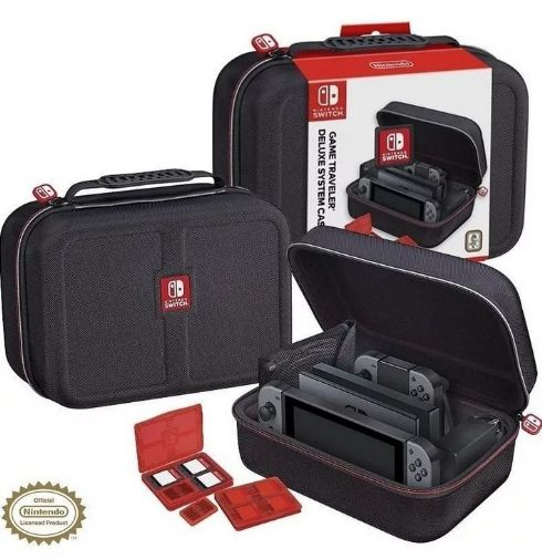 Foto Game Traveler Deluxe System Case Nintendo Case para Nintendo Switch
