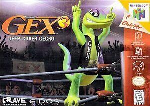 Gex 3 Deep Cover Nintendo...
