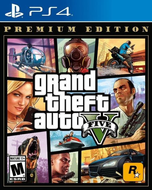 Foto Grand Theft Auto V Premium Edition PS4