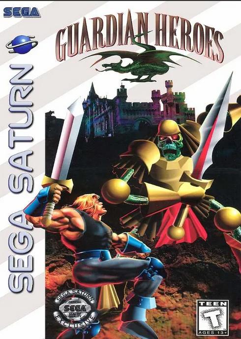 Guardian Heroes Sega Saturn - Seminovo