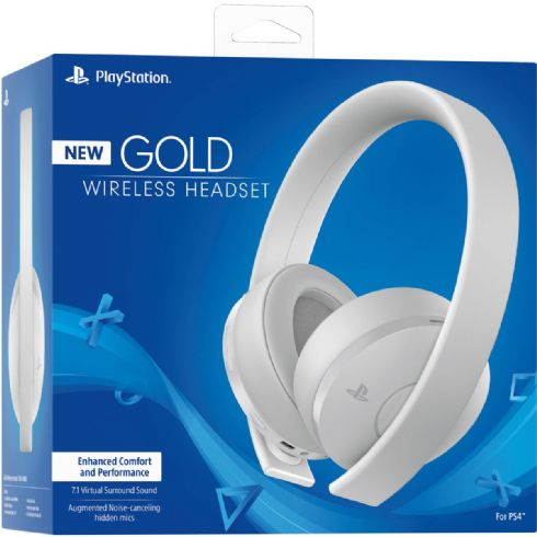 Headset 7.1 Gold Branco SONY