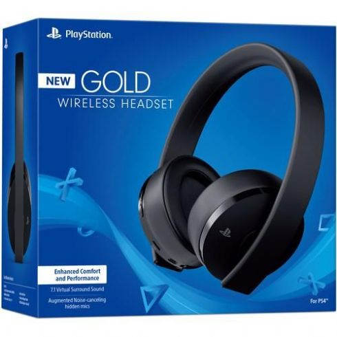 Foto Headset 7.1 Gold SONY