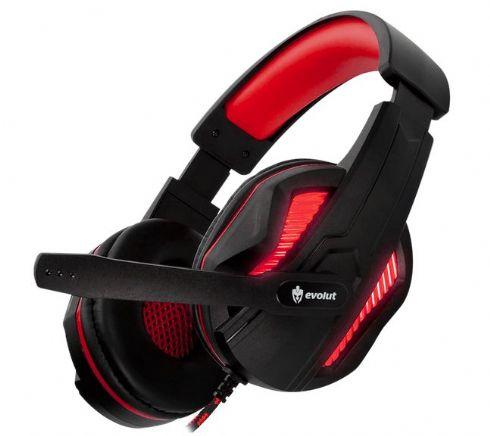 Headset Gamer Evolut Eg-305 Vermelho Tho...