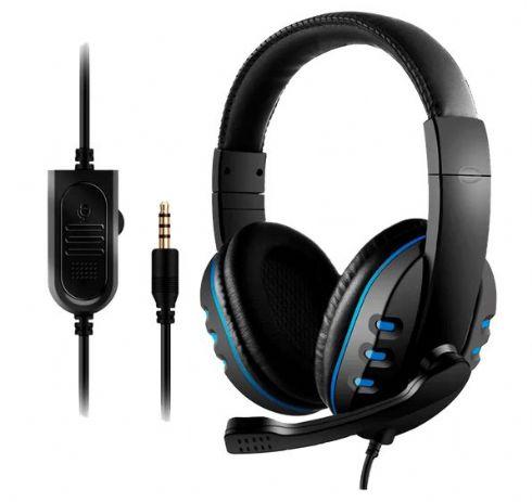Headset Gamer Lehmox LEF 1020 P3 Azul XB...
