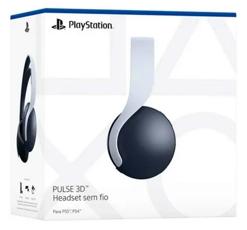 Headset PULSE 3D Wireless PS5 Branco