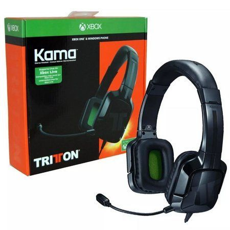 Headset Tritton Kama Preto Xbox One - Mo...
