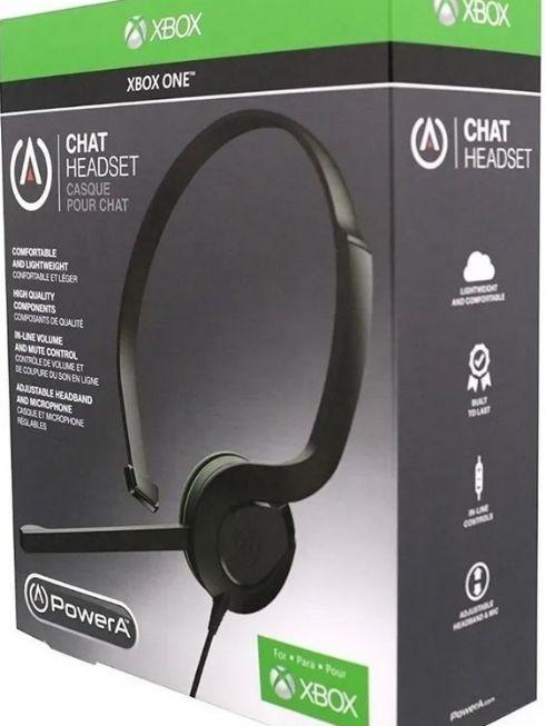 Headset Xbox One Fone De Ouvido Chat Xon...