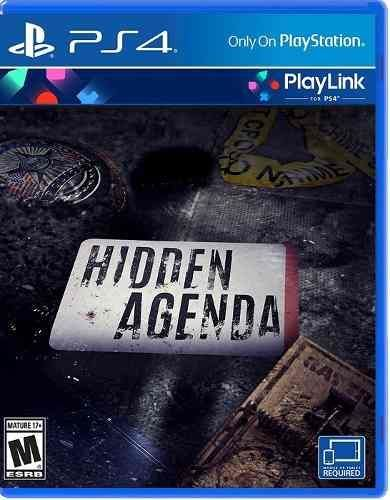 Hidden Agenda PS4 - Semin...