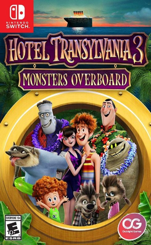 Foto Hotel Transylvania 3 Monsters Overboard Nintendo Switch - Seminovo