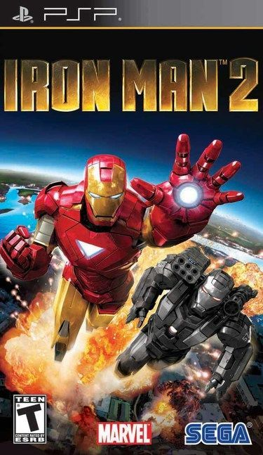 Iron Man 2 PSP - Seminovo