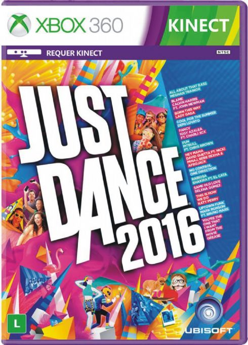 Just Dance 2016 XBOX 360...