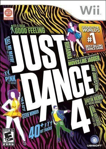 Just Dance 4 Nintendo Wii...