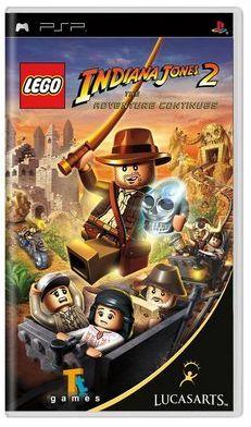 Lego Indiana Jones 2 PSP...