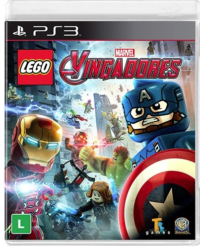 LEGO Marvel Vingadores PS...