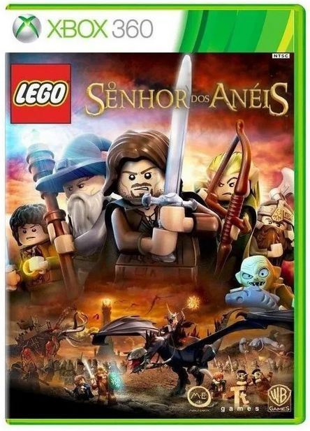 Lego O Senhor dos Anéis...