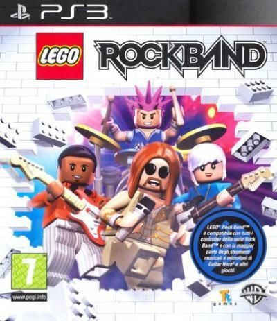 Lego Rock Band (Seminovo)...