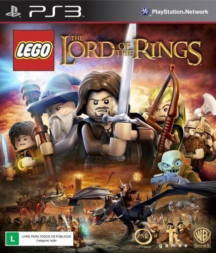 LEGO Senhor do Anéis PS3...