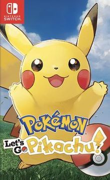 Foto Pokemon Let's Go Pikachu! Nintendo Switch (Seminovo)