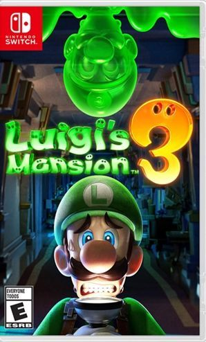 Foto Luigi's Mansion 3 Pré-Venda (31/10/2019) Nintendo Switch