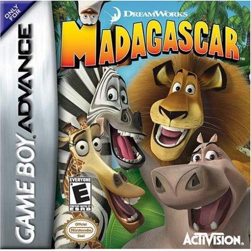Madagascar Game Boy - Sem...