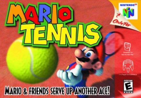 Mario Tennis Nintendo 64...
