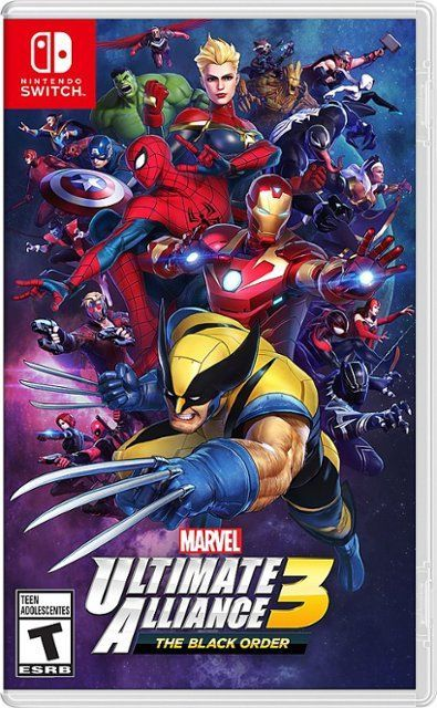 Marvel Ultimate Alliance 3: The Black Or...