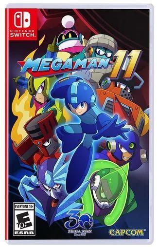 Foto Megaman 11 Nintendo Switch - Seminovo