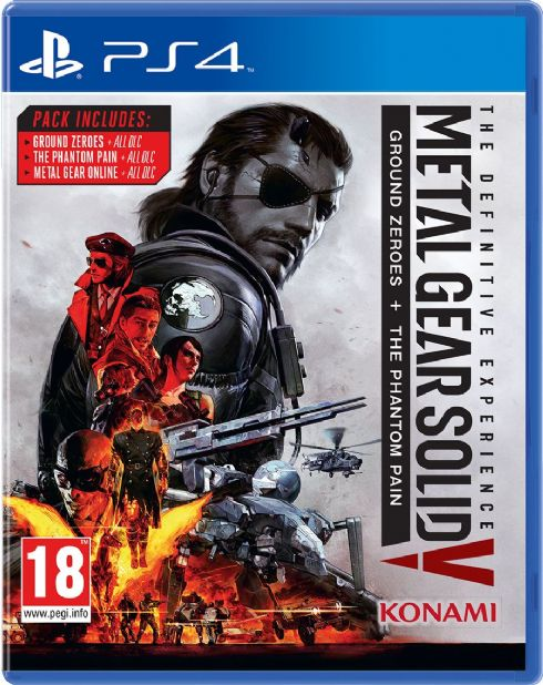 Metal Gear Solid V: The D...