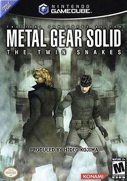 Metal Gear Solid Twin Sna...
