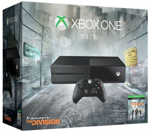 Foto Microsoft XBOX ONE 1TB Bundle The Division (Seminovo)