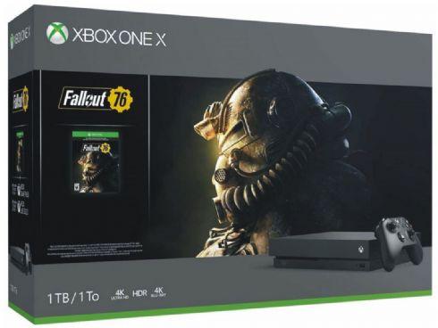 Foto Microsoft XBOX ONE X 1TB Bundle Fallout 76 + Garantia ZG! Poucas Unidades