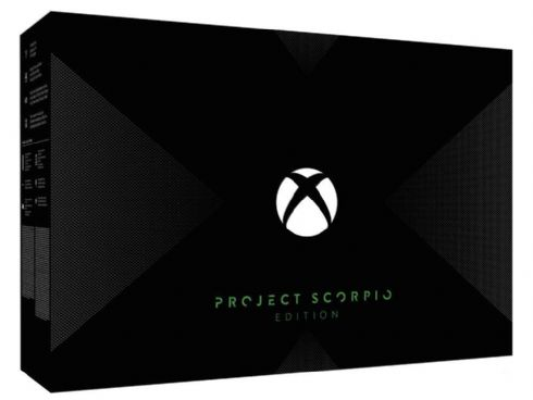Microsoft XBOX ONE X Project Scorpion +...