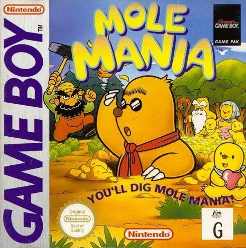 Mole Mania Game Boy Color...