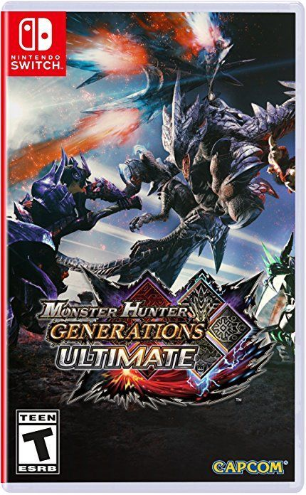 Foto Monster Hunter Generations Ultimate  Pré-Venda (05/09/2018) Nintendo Switch