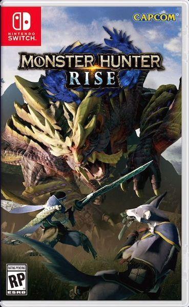 Foto Monster Hunter Rise Nintendo Switch Pré-Venda (28/03/2021)
