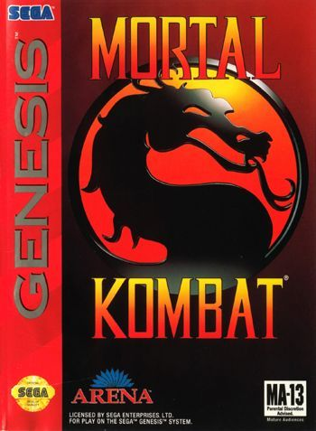 Mortal Kombat Mega Drive...