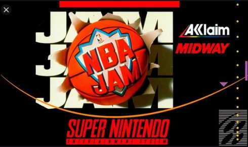 NBA Jam Super Nintendo -...