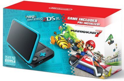 New Nintendo 2DS XL Blue...