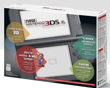 New Nintendo 3DS XL Black...
