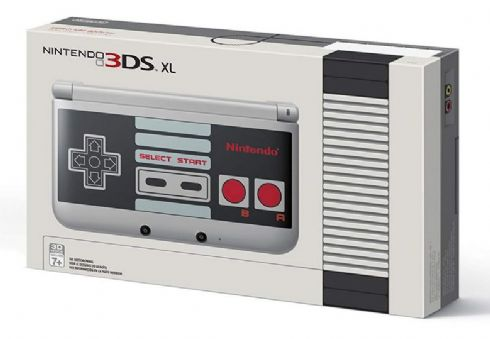 Nintendo 3DS XL NES Edtion - Seminovo