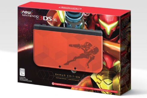 New Nintendo 3DS XL Samus...
