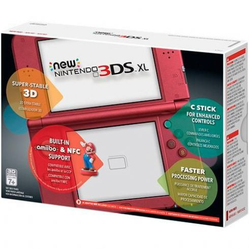 New Nintendo 3DS XL Verme...